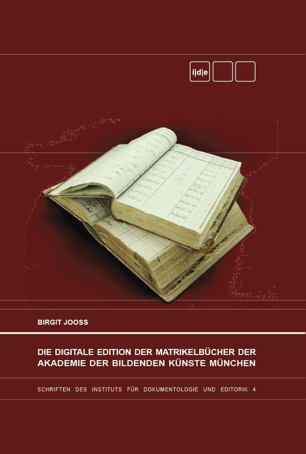 Matrikelbücher der Akademie der Bildenden Künste München (SIDE 4) online